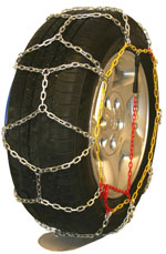 Diamondback square link tire chains